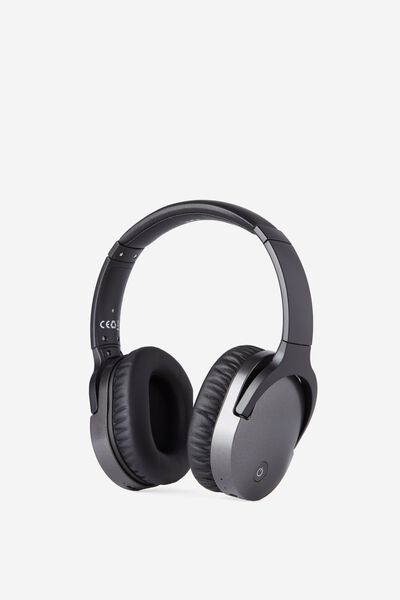 Block Out Noise Cancelling Headphone, CHARCOAL