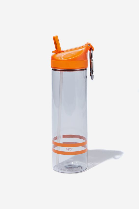 The Clipper Drink Bottle, ORANGE STRIPES
