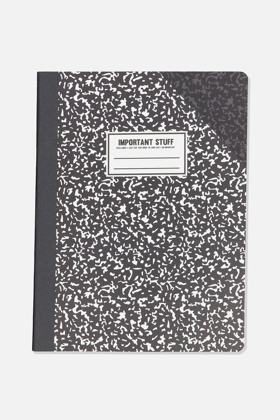 Compo Notebook, BLACK