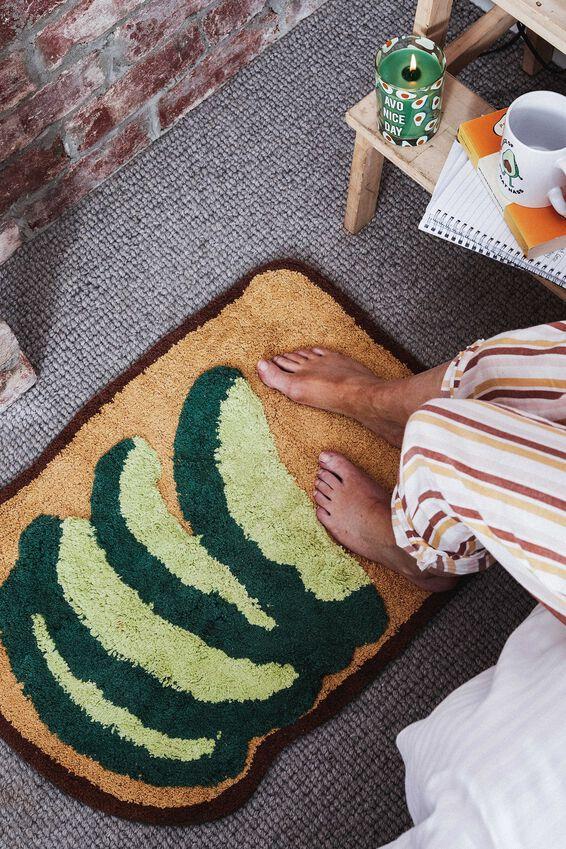 Floor Mat, AVO ON TOAST