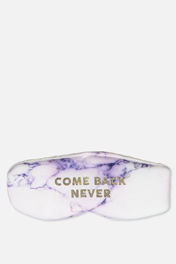 Total Block Out Eyemask, LUSH MARBLE