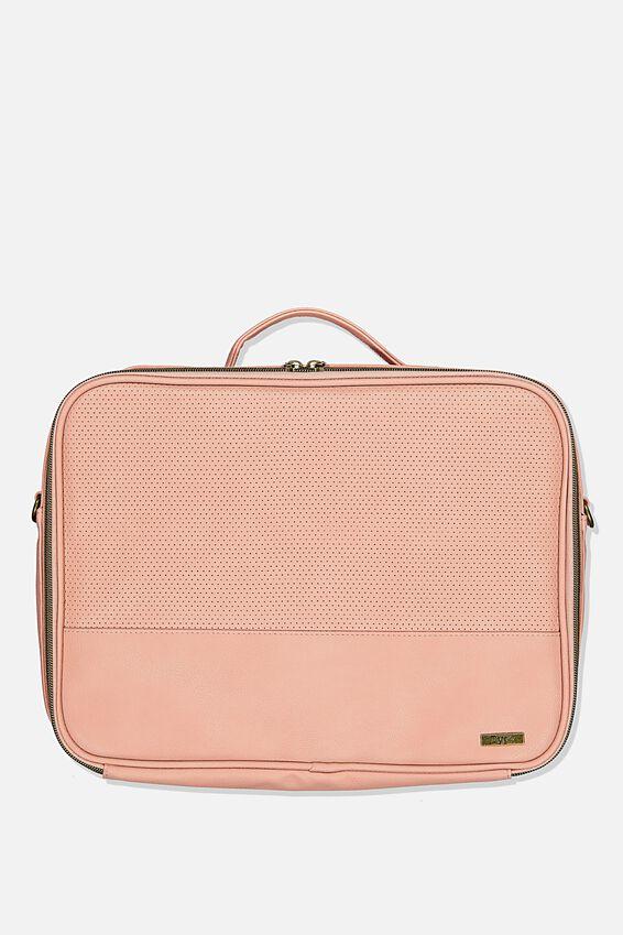 Mobile Laptop Folio, DUSTY ROSE PERF
