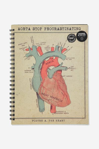 A4 Campus Notebook Recycled, AORTA