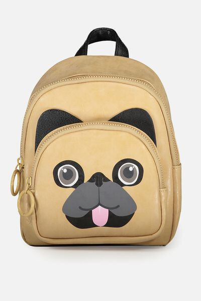 Mini Madrid Backpack, NOVELTY PUG