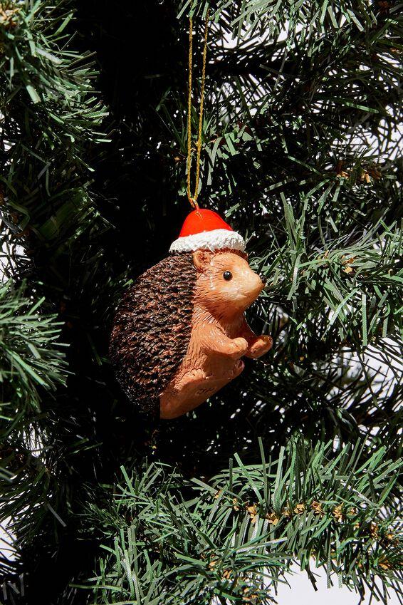 Christmas Ornament, HEDGEHOG