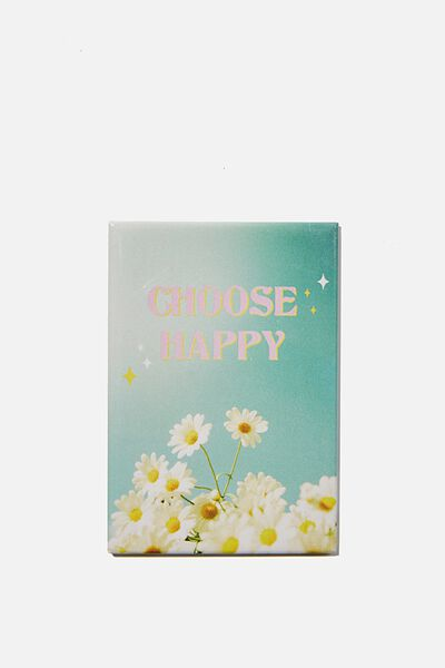 Quirky Magnets, CHOOSE HAPPY