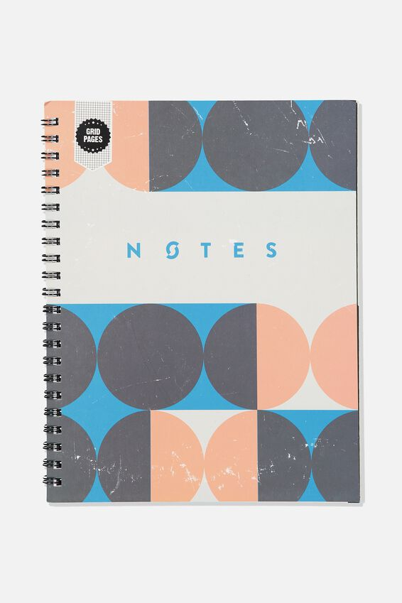 A4 Campus Notebook Grid Internal, CIRCLE  NOTES