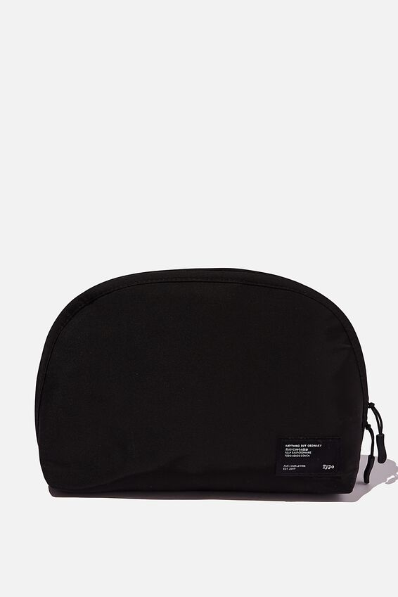 Essential Pouch, BLACK AND GREY